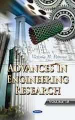 Advances in Engineering Research (Advances in Engineering Research, nr. 18)