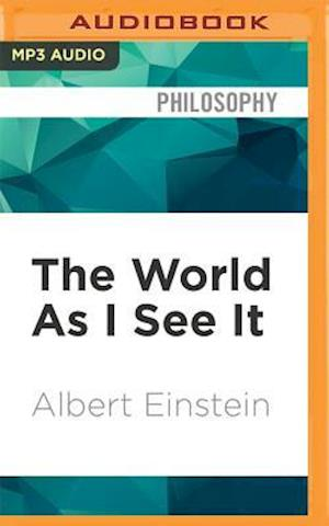 Lydbog, CD World As I See It af Albert Einstein