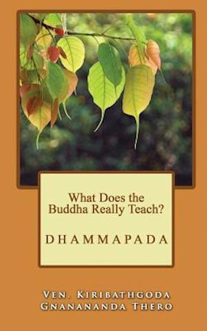 Bog, paperback What Does the Buddha Really Teach? af Ven Kiribathgoda Gnanananda Thero