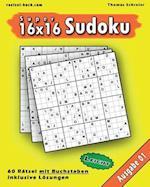 Leichte 16x16 Buchstaben-Sudoku 01