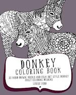 Donkey Coloring Book