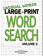 Unusual Words Large Print Word Search af Puzzle Planet
