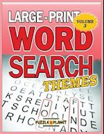 Large Print Word Search af Puzzle Planet