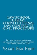 Law School Tuesday - Constitutional Law Contracts Civil Procedure