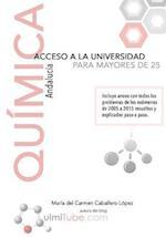 Quimica - Preparacion de La Prueba de Acceso a la Universidad Para Mayores de 25 Anos