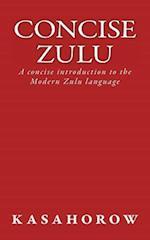Concise Zulu