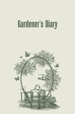 Bog, paperback Gardener's Diary af Journal Jungle Publishing