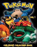 Pokemon Children's Colouring Book Vol 1
