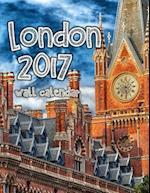 London 2017 Wall Calendar