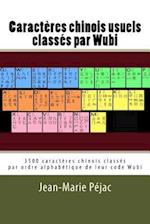 Caracteres Chinois Usuels Classes Par Wubi