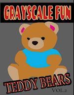 Grayscale Fun Teddy Bears Vol.2
