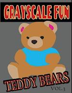 Grayscale Fun Teddy Bears Vol.3