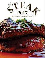 El Steak 2017 Calendario de Pared (Edicion Espana) af Aberdeen Stationers Co