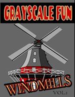 Grayscale Fun Windmills Vol.1