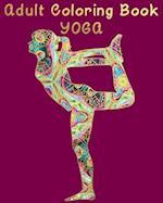 Adult Coloring Book - Yoga