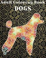 Adult Coloring Book - Dogs