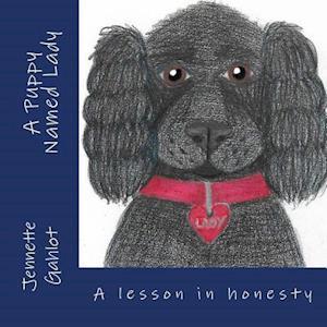 Bog, paperback A Puppy Named Lady af Jennette Gahlot