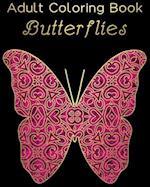 Adult Coloring Book - Butterflies