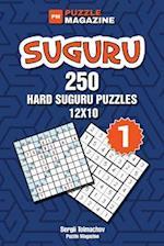 Suguru - 250 Hard Suguru Puzzles 12x10 (Volume 1) af Sergii Tolmachov