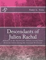 Descendants of Julien Rachal af Tony L. Vets