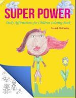 Super Power Coloring Book