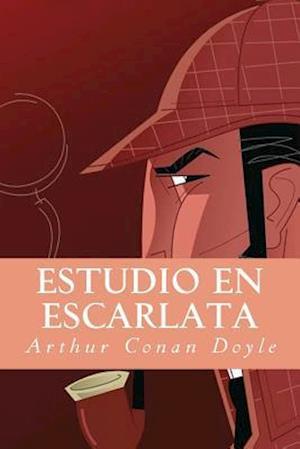 Bog, paperback Estudio En Escarlata af Arthur Conan Doyle