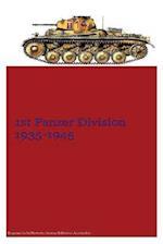 1st Panzer Division 1935-1945 af MR Gustavo Uruena a.