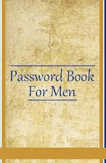 Password Book for Men