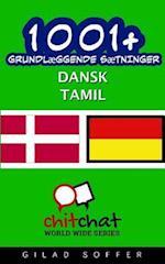 1001+ Grundlaeggende Saetninger Dansk - Tamil af Gilad Soffer