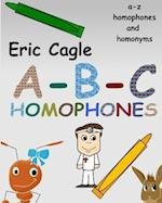 ABC Homophones and Homonyms Coloring Book