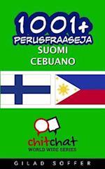 1001+ Perusfraaseja Suomi - Cebuano