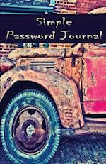 Simple Password Journal