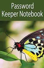 Password Keeper Notebook