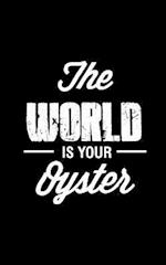 The World Is Your Oyster, Graph Paper Notebook, Small Journal Series, 64p, 5