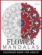 Floral Mandala Coloring Books Volume 1