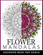 Floral Mandala Coloring Books Volume 2