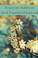 Internet Address and Password Journal