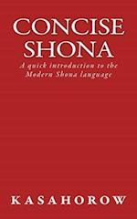 Concise Shona