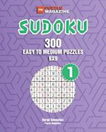 Sudoku - 300 Easy to Medium Puzzles 9x9 (Volume 1)
