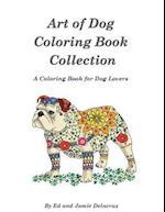 Art of Dog Collection - A Dog Lover's Coloring Book af Ed Delacruz
