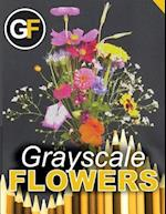 Grayscale Flowers - Bouquet