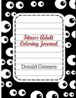 Fitness Adult Coloring Journal af Donald Conners