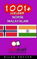 1001+ Ovelser Norsk - Malayalam