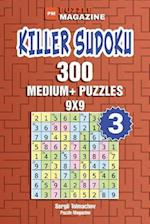 Killer Sudoku - 300 Medium+ Puzzles 9x9 (Volume 3)