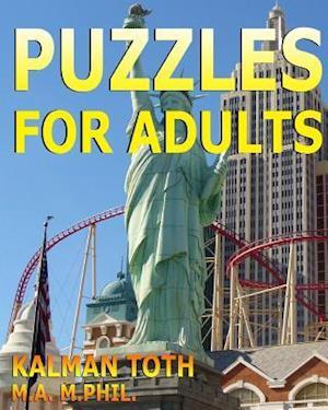 Bog, paperback Puzzles for Adults af Kalman Toth M. a. M. Phil