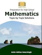 Preparation for High School Mathematics