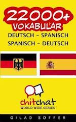 22000+ Deutsch - Spanisch Spanisch - Deutsch Vokabular