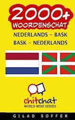 2000+ Nederlands - Bask Bask - Nederlands Woordenschat