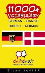 11000+ German - Danish Danish - German Vocabulary