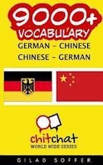 9000+ German - Chinese Chinese - German Vocabulary